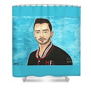 Tom Sismey Shower Curtain