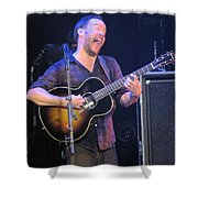 Daves Crazy Face Shower Curtain