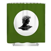 David 33 Shower Curtain