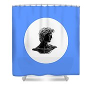 David 35 Shower Curtain