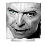 David Bowie In Clip Valentine's Day - 1 Shower Curtain