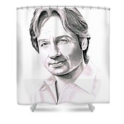 David Duchnovey Shower Curtain