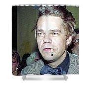 David Johansen 1988 Shower Curtain