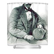 David Livingstone, Scottish Explorer Shower Curtain