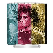 David Luiz - C Shower Curtain