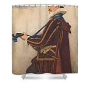 David Rizzio Shower Curtain
