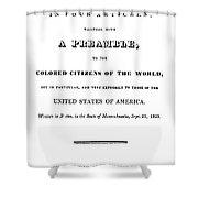 David Walker (1785-1830) Shower Curtain