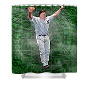 David Wells Yankees Perfect Game 1998 Shower Curtain