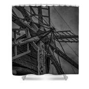Davidson Windmill Shower Curtain
