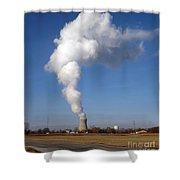 Davis Besse Nuclear Power Plant Shower Curtain