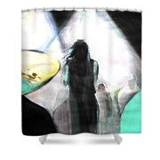 Davy's On The Road Again Shower Curtain