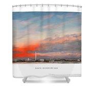 Dawn 20 January 2009 Shower Curtain