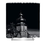 Dawn And Night Shower Curtain
