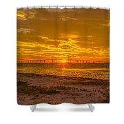 Dawn Arrives Shower Curtain