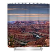 Dawn At Dead Horse Point Shower Curtain