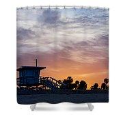 Dawn At Venice Beach Shower Curtain