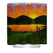 Dawn Dream Shower Curtain