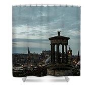 Dawn In Edinburgh Shower Curtain