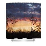 Dawn In The Catskills Shower Curtain