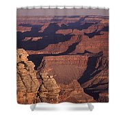 Dawn In The Grand Canyon Shower Curtain