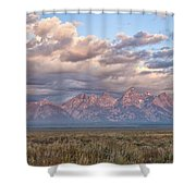 Dawn In The Grand Tetons Shower Curtain