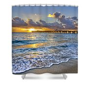 Dawn Lace Shower Curtain