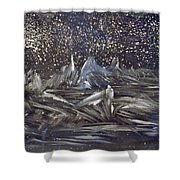 Dawn Of The Moon Shower Curtain