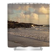 Dawn On The Coral Sea Shower Curtain