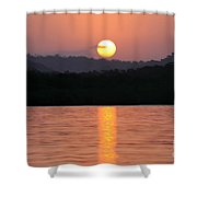 Dawn Over Darien Shower Curtain