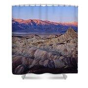 Dawn Over Death Valley Shower Curtain