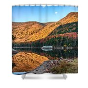 Dawn Over Kinsman Notch Shower Curtain