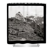 Dawn Over Machu Picchu Shower Curtain