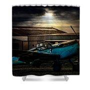 Dawn Raider Shower Curtain