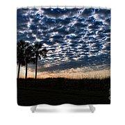 Dawn Silhouettes Shower Curtain