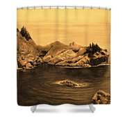 Dawning Of A New Day Shower Curtain