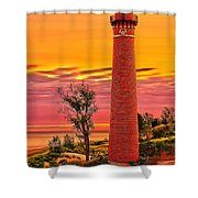 Dawn's Light At Little Sable Shower Curtain