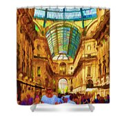 Day At The Galleria Shower Curtain