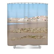 Day At The Moroccan Fishing Village Shower Curtain