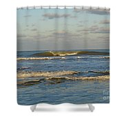 Day At The Ocean Shower Curtain