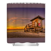 Day Before Spring Break Shower Curtain