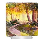Day Break Shower Curtain