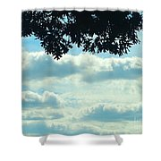 Day Dreaming With Clouds Shower Curtain