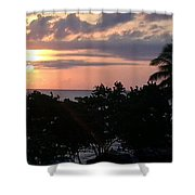 Day Is Almost Done Shower Curtain