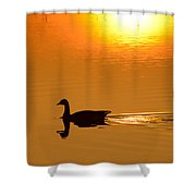 Day Is Ending Shower Curtain