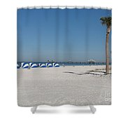 Day On The Beach Shower Curtain