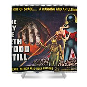 Day The Earth Stood Still Shower Curtain