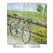Day Trip Shower Curtain