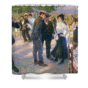 Day Trip Out Of Porta San Giovanni Shower Curtain