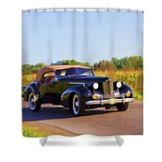 Day Tripper Shower Curtain