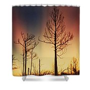 Daybreak After Hurricane Andrew Shower Curtain